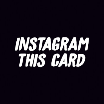 Instagram This Card Funny Birthday Card