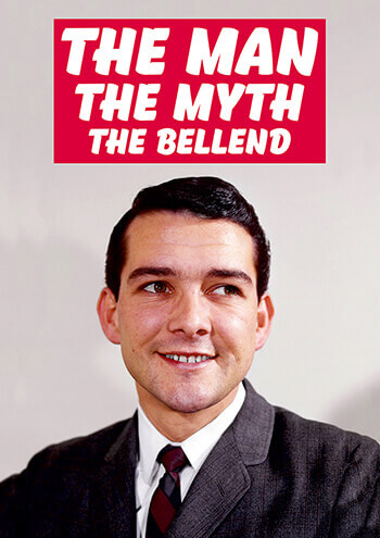 The Man Myth Bellend Rude Birthday Card 250 By Dean Morris Cards