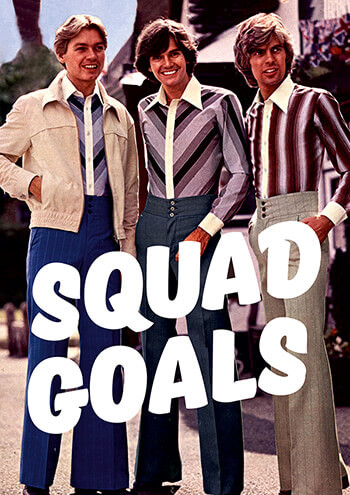 Squad Goals Funny Greeting Card