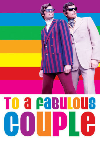 To A Fabulous Couple Funny Gay Wedding Card