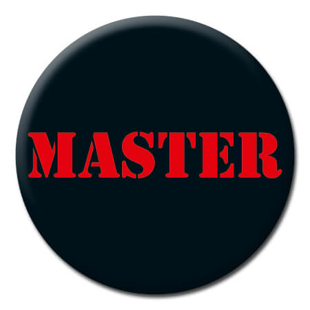 Master Funny Badge