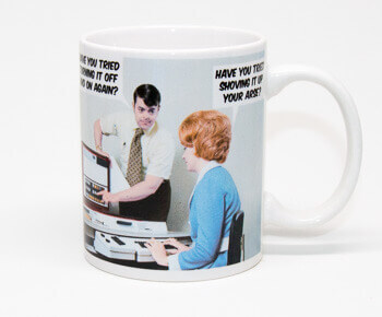 Have You Tried Turning It Off And On Again Funny Mug