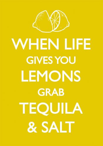 When Life Gives You Lemons Funny Greeting Card