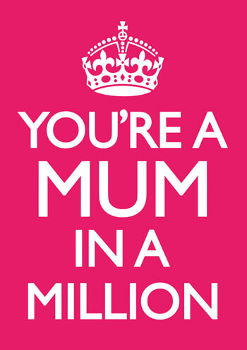 Mum In A Million Funny Greeting Card