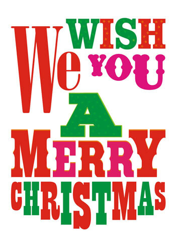 We Wish You a Merry Christmas Funny Christmas Card