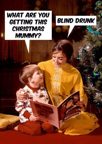 What Are You Getting This Christmas Mummy Funny Christmas Card