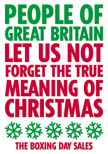 People Of Great Britain Christmas Postcard