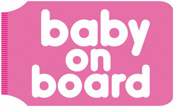 Baby On Board Travel Wallet Funny