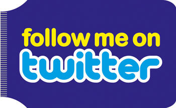 Follow Me On Twitter Travel Wallet Funny