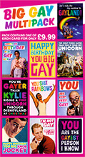 Big Gay Funny Card Multipack