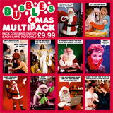 Bubbles Christmas Multipack