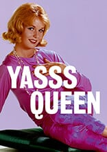 Yasss Queen Funny Greetings Cards