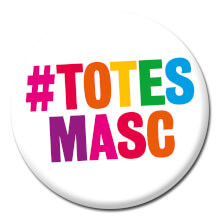 Totes Masc Funny Badge