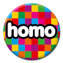 Homo Funny Badge