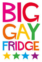 Big Gay Funny Fridge Magnet
