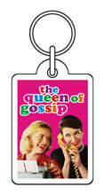The Queen Of Gossip Funny Keyring