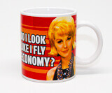 Do I Look Like I Fly Economy Funny Mug