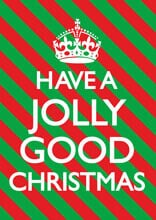 Have A Jolly Good Christmas Funny Christmas Card