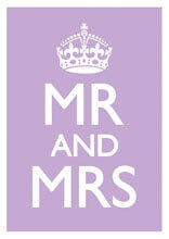 Mr And Mrs Funny Wedding Card