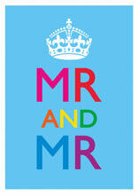 Mr And Mr Funny Gay Wedding Card