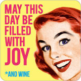 May this day be filled with Joy coaster