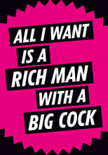 All I Want Is A Rich Man Postcard Funny