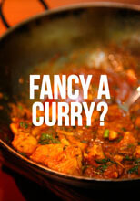 Fancy A Curry? Postcard Funny