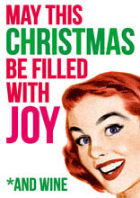 May This Christmas Be Filled With Joy Funny Christmas Card