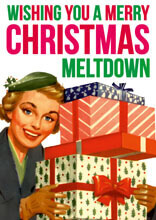 Merry Christmas Meltdown Funny Christmas Card