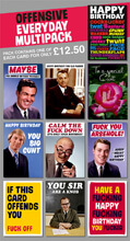 Offensive Everyday Rude Card Multipack