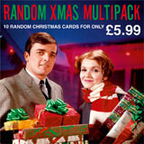 Random Christmas Funny Card Multipack