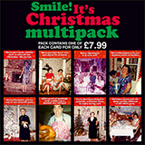 Smile It's Christmas Funny Card Multipack